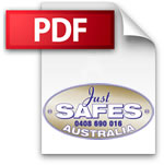 Just Safes Australia PDF Brochures Section