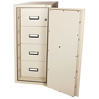 Chubbsafes FileSafe Cabinet - Theft & Fire Protection